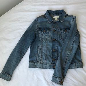 H&M Jean Jacket w/ Copper Colored Buttons